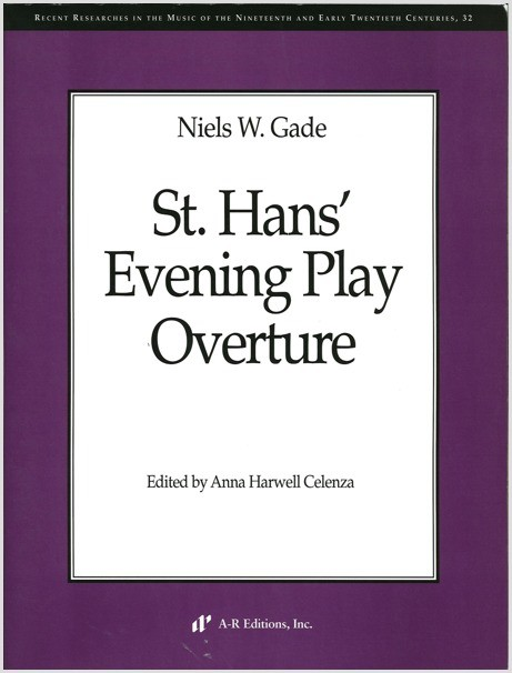 Gade: St. Hans' Evening Play Overture