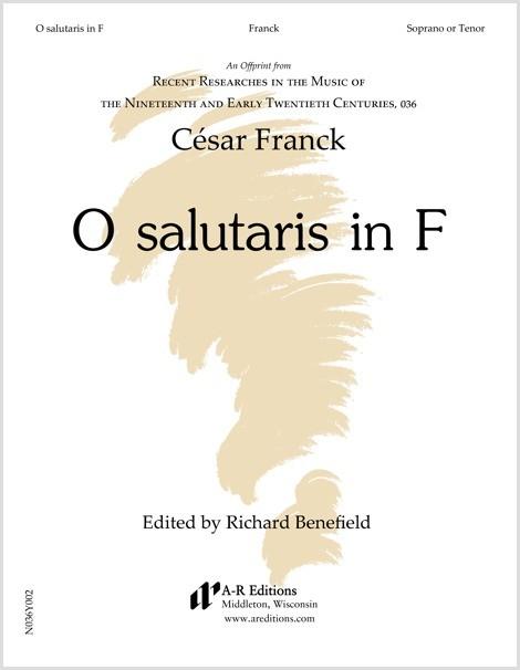 Franck: O salutaris in F