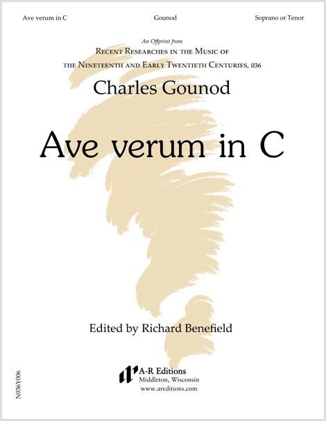 Gounod: Ave verum in C