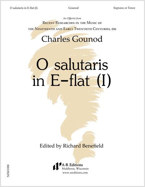 Gounod: O salutaris in E-flat (I)
