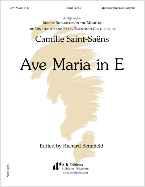 Saint-Saëns: Ave Maria in E