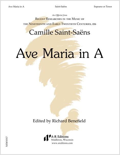 Saint-Saëns: Ave Maria in A