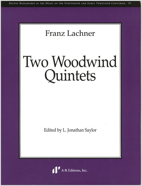 Lachner: Two Woodwind Quintets