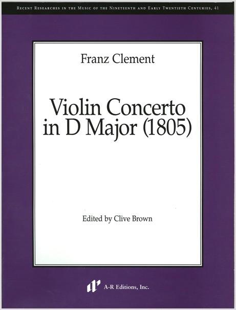 Clement: Violin Concerto in D Major (1805)