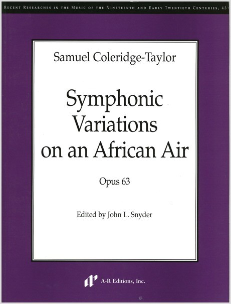 Coleridge-Taylor: Symphonic Variations on an African Air