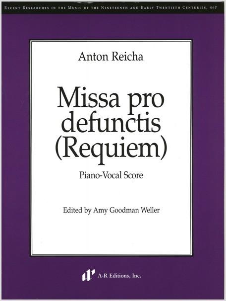 Reicha: Missa pro defunctis (Requiem) (PV)