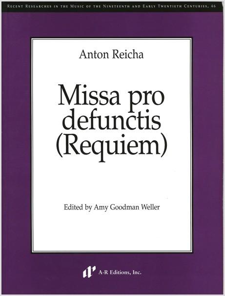 Reicha: Missa pro defunctis (Requiem)