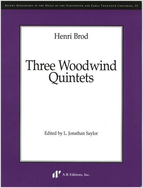 Brod: Three Woodwind Quintets
