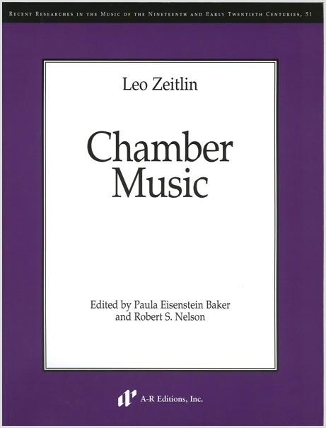 Zeitlin: Chamber Music