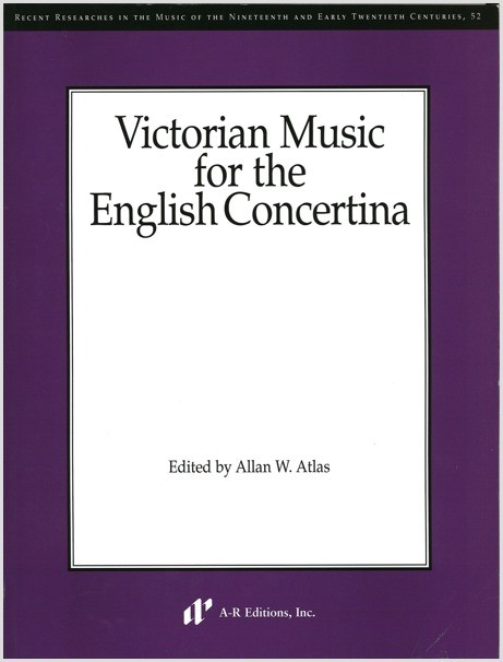 Victorian Music for the English Concertina