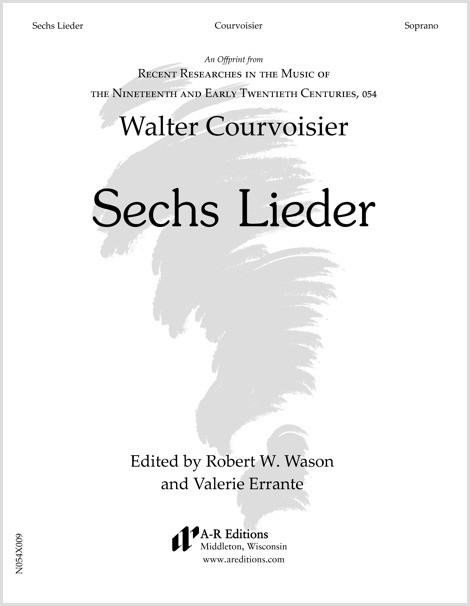 Courvoisier: Sechs Lieder