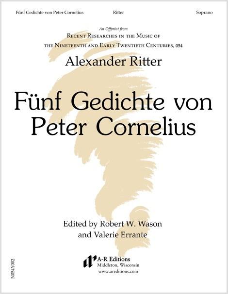 Ritter: Fünf Gedichte von Peter Cornelius