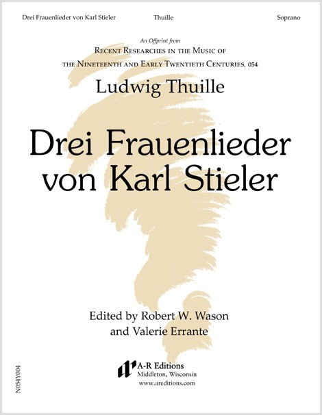Thuille: Drei Frauenlieder von Karl Stieler