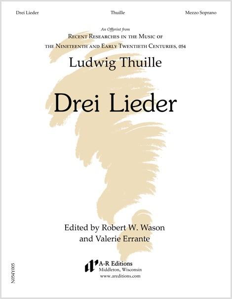 Thuille: Drei Lieder