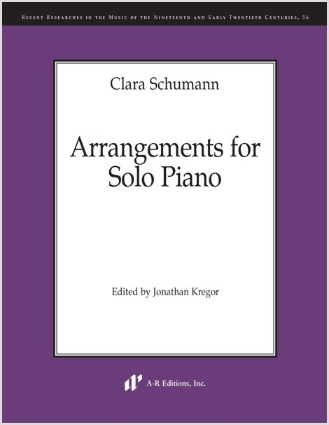 Schumann, C.: Arrangements for Solo Piano