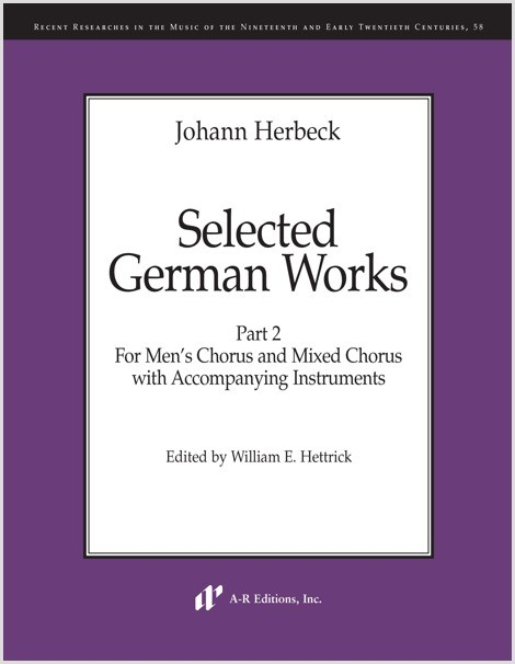 Herbeck: Selected German Works, Part 2