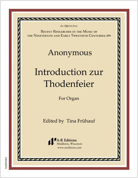Anonymous: Introduction zur Thodenfeier