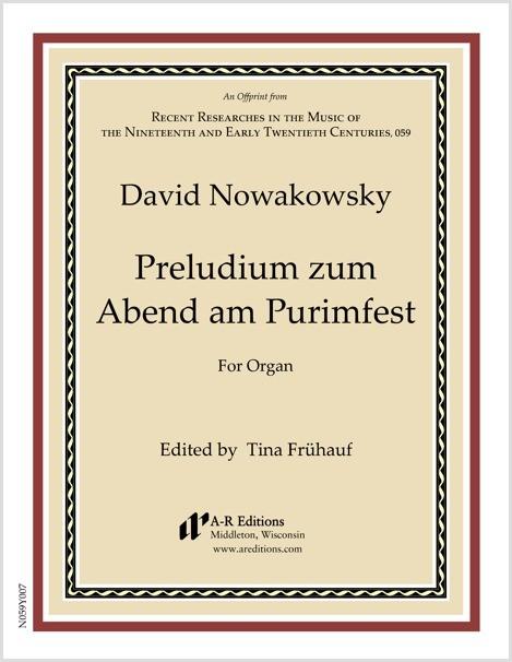 Nowakowsky: Preludium zum Abend am Purimfest