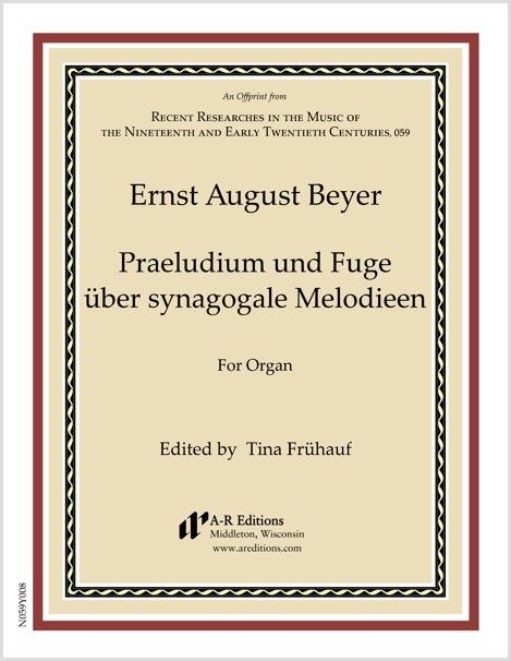 Beyer: Praeludium und Fuge über synagogale Melodieen