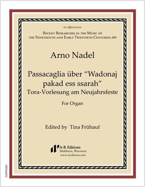 """Nadel: Passacaglia über """"Wadonaj pakad ess ssarah"""""""