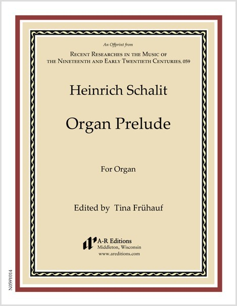 Schalit: Organ Prelude