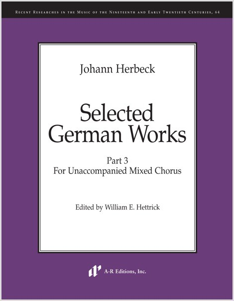 Herbeck: Selected German Works, Part 3