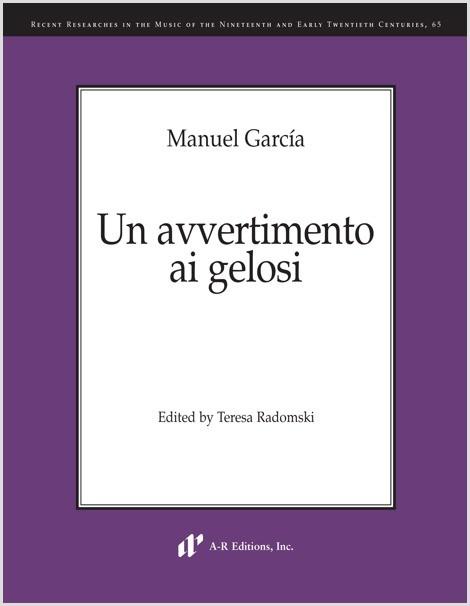 García: Un avvertimento ai gelosi
