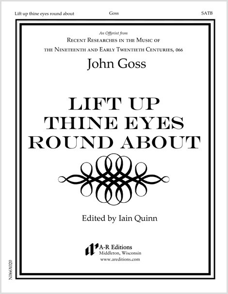 Goss: Lift up thine eyes round about