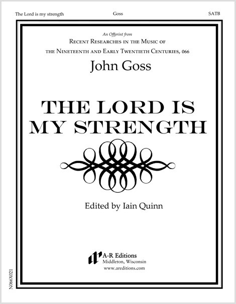 Goss: The Lord is my strength