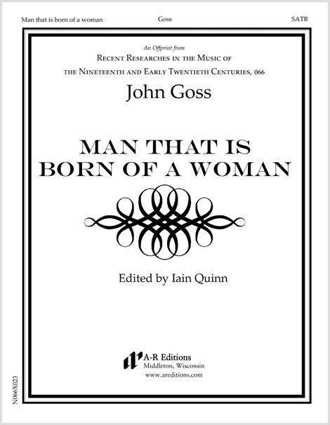 Goss: Man that is born of a woman