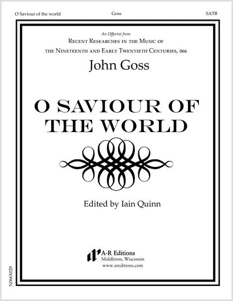 Goss: O Saviour of the world