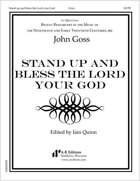 Goss: Stand up and bless the Lord your God