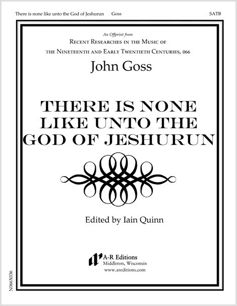 Goss: There is none like unto the God of Jeshurun