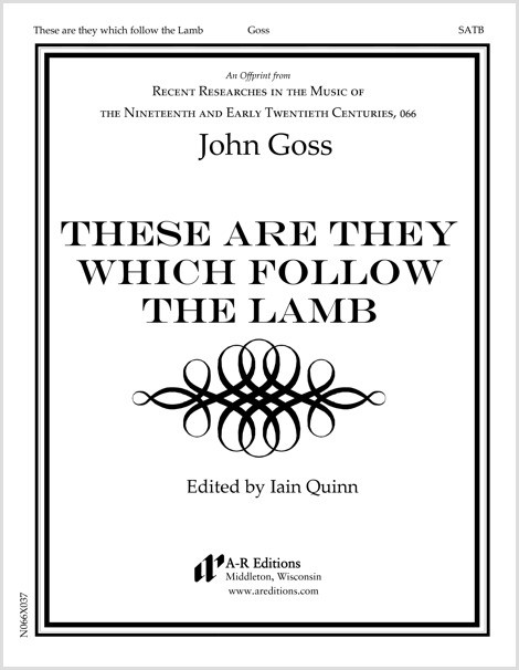 Goss: These are they which follow the Lamb