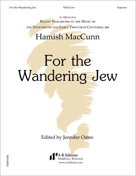 MacCunn: For the Wandering Jew