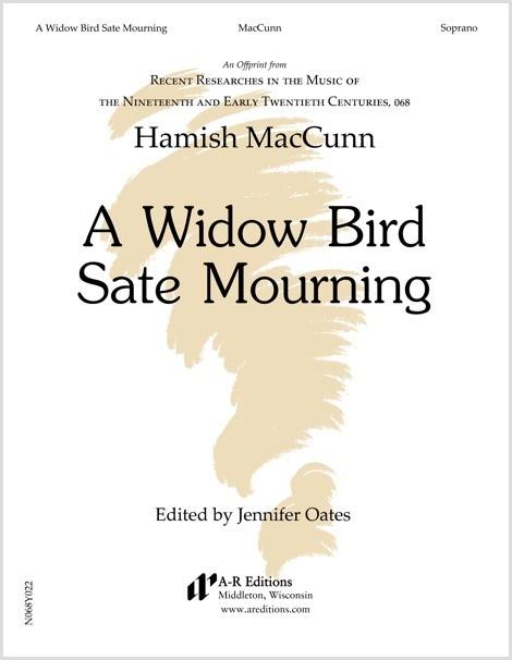 MacCunn: A Widow Bird Sate Mourning