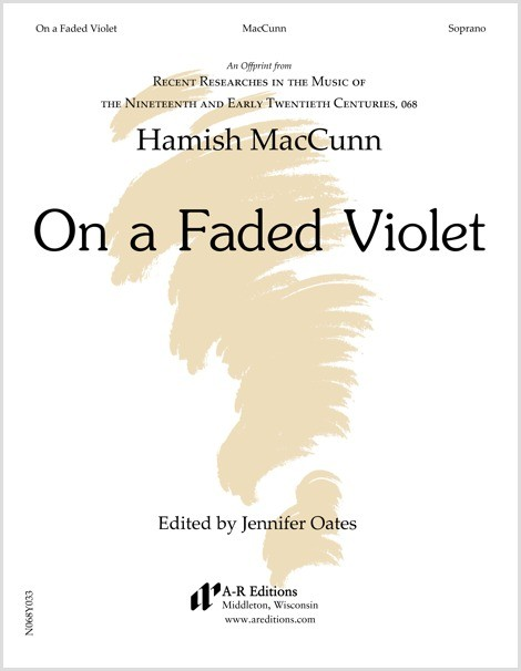 MacCunn: On a Faded Violet