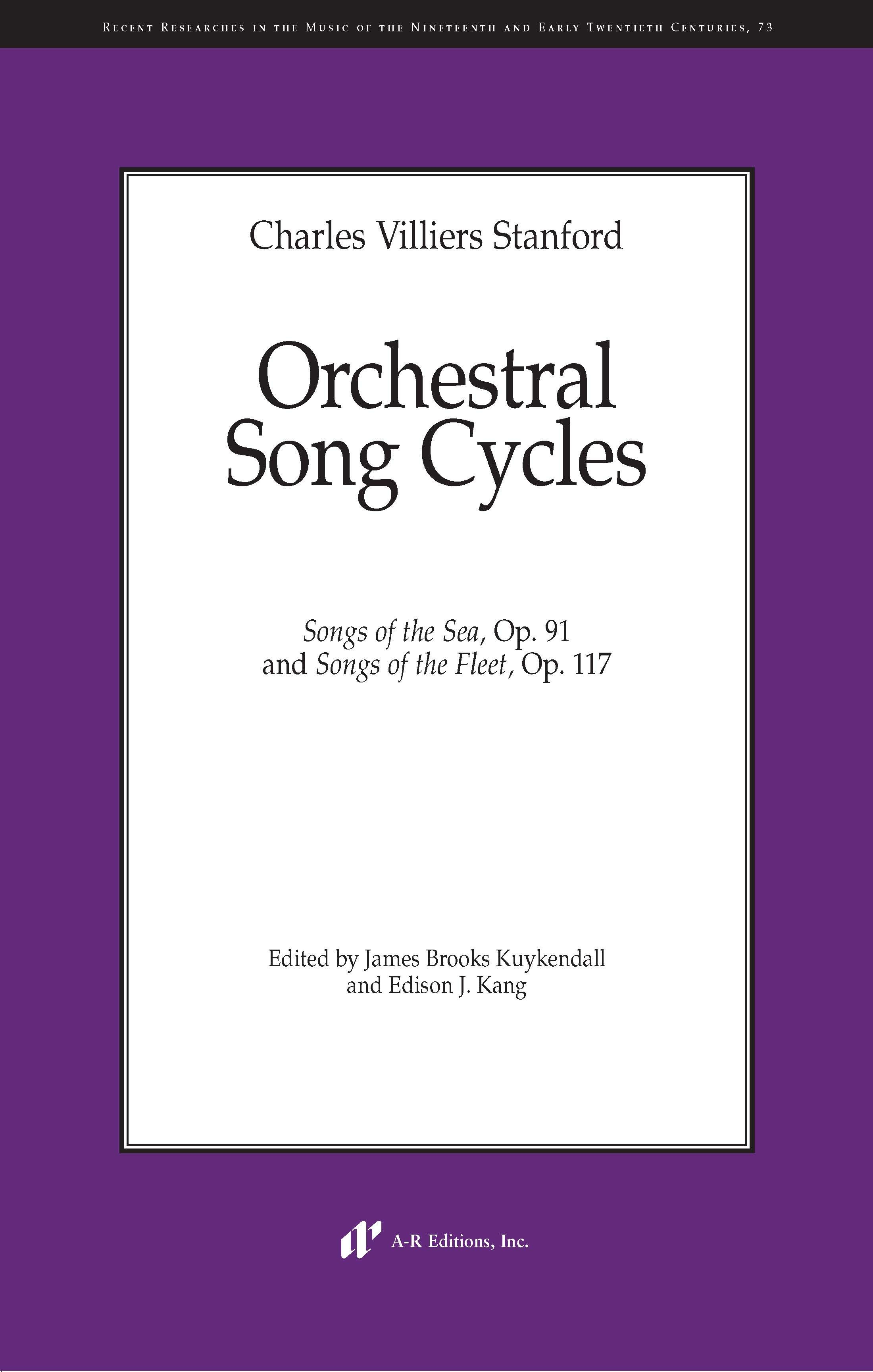 Stanford: Orchestral Song Cycles