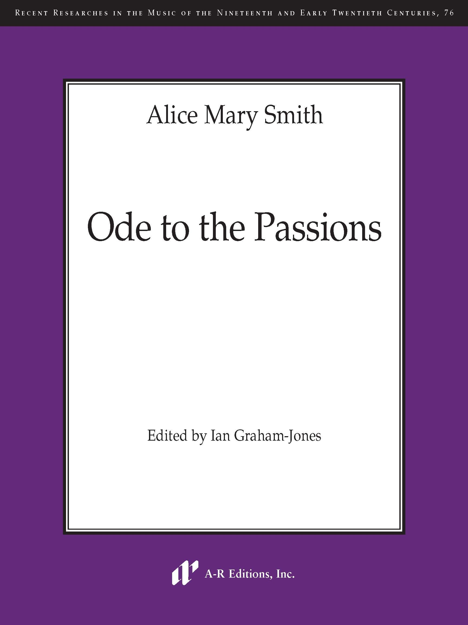 Smith: Ode to the Passions