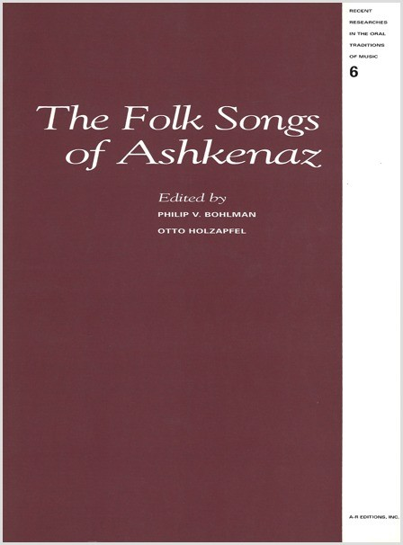 The Folk Songs of Ashkenaz