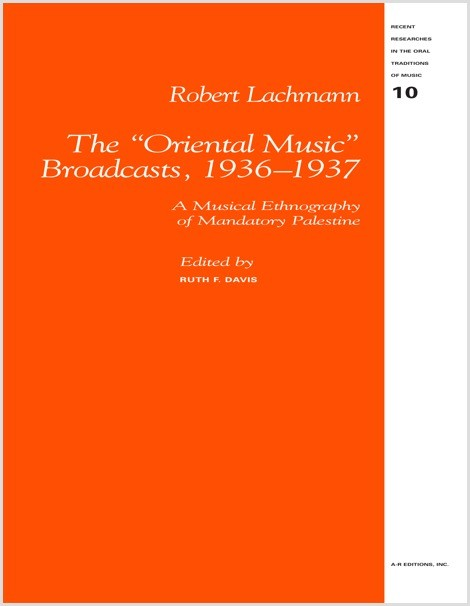 Lachmann: The Oriental Music Broadcasts, 1936–1937