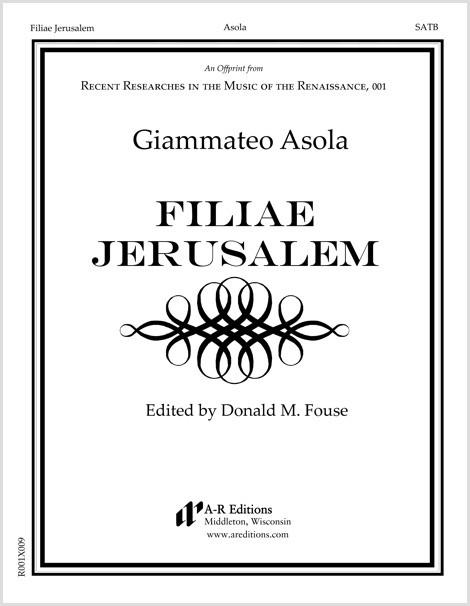 Asola: Filiae Jerusalem