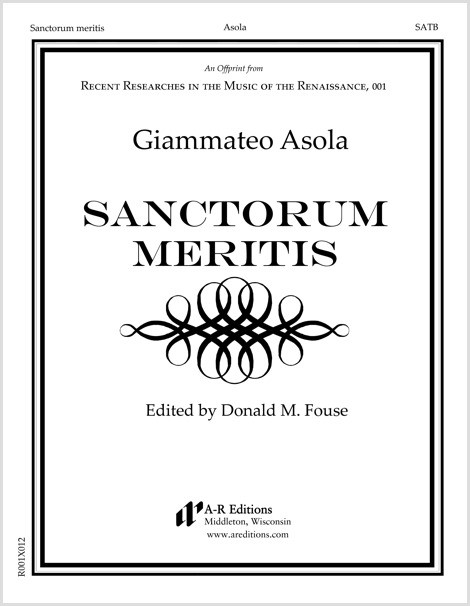 Asola: Sanctorum meritis