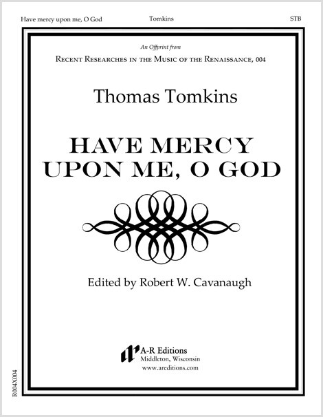 Tomkins: Have mercy upon me, O God