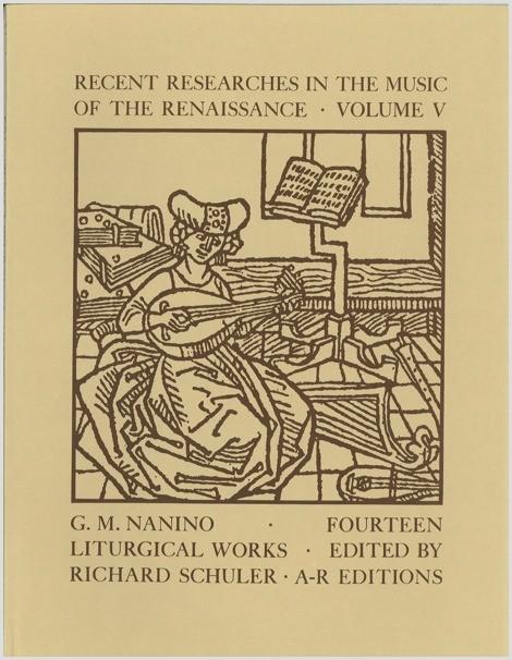Nanino: Fourteen Liturgical Works