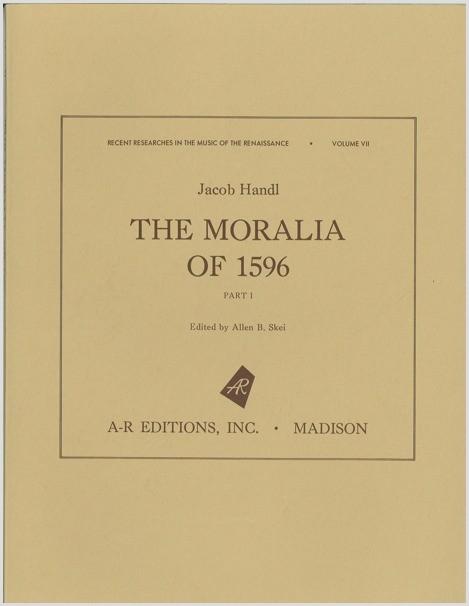 Handl: Moralia of 1596