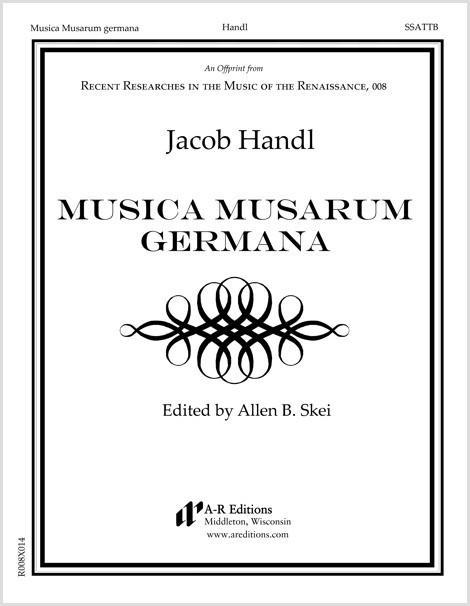 Handl: Musica Musarum germana