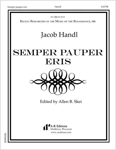 Handl: Semper pauper eris