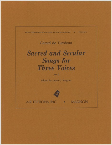 Turnhout: Sacred and Secular Songs for Three Voices, Part 2