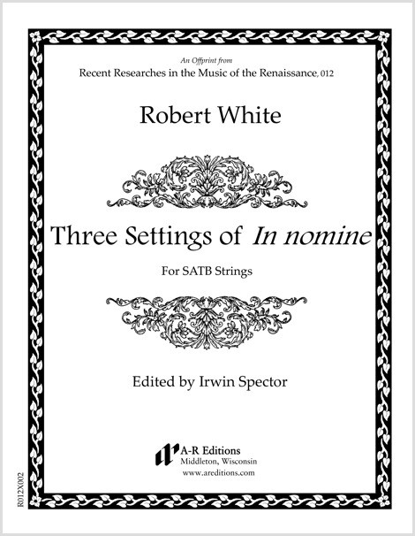 White: Three Settings of In nomine